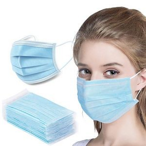 3-Ply Disposable Face Masks - FDA & CE Certified